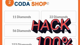(no money?) how to hack coda shop diamond mobile legends