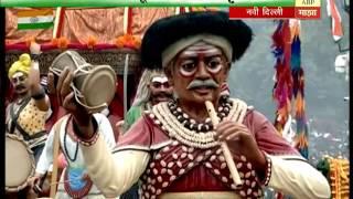 Delhi Republic day parade  Chitrarath 11AM 26012017