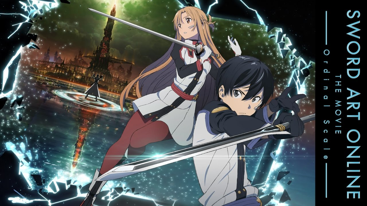 Sword Art Online Ordinal Scale Home Video Release Details All The Anime