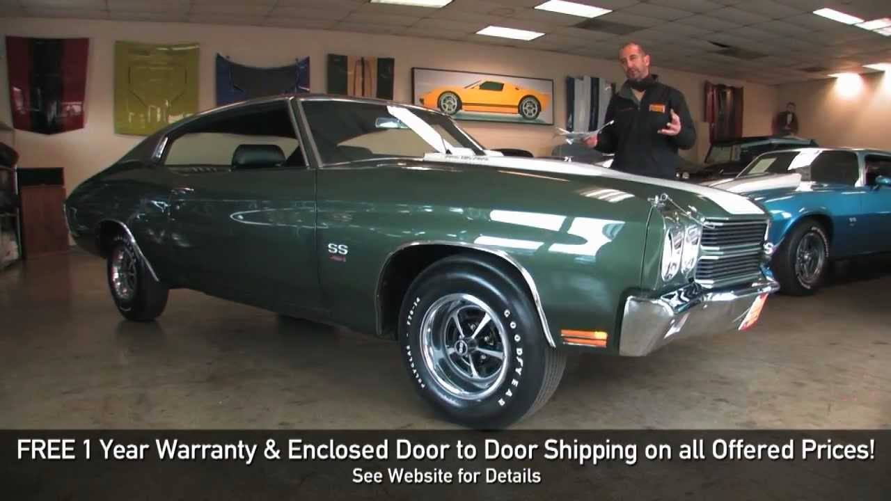All Chevy 1970 chevrolet chevelle ss 454 : REAL LS6 1970 Chevrolet Chevelle SS 454 for sale with test drive ...
