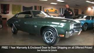 REAL LS6 1970 Chevrolet Chevelle SS 454 for sale with test drive, walk through video