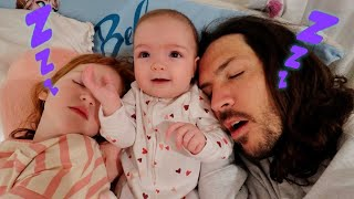 7:00am Adley's Morning Routine 💤  Dad Won't Wakeup! baby Navey rescue! get Niko ready! Mom Asleep!