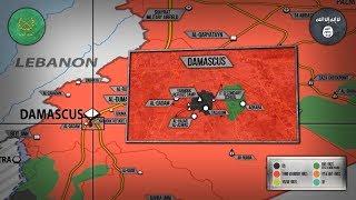 8 мая 2018. Военная обстановка в Сирии. Гибель российского Ка-52 и обоих пилотов на востоке Сирии.