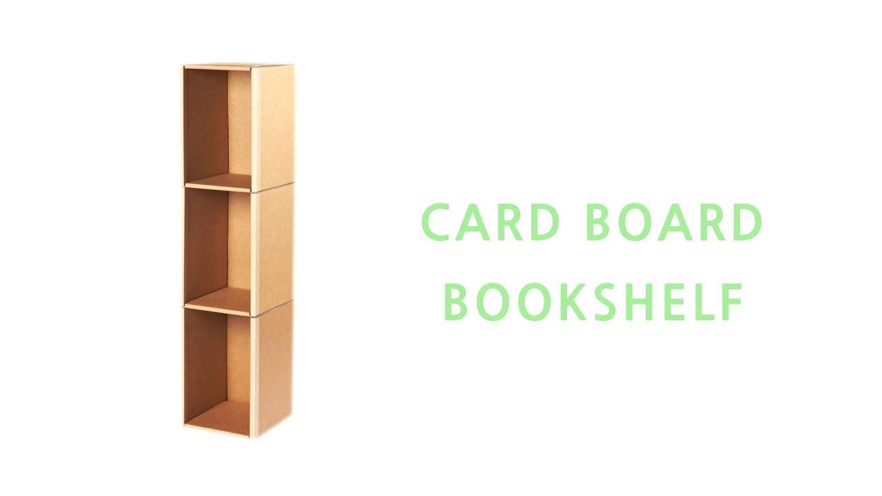 furniture a bookshelves yet friendly bookshelf cardboard eco stylish