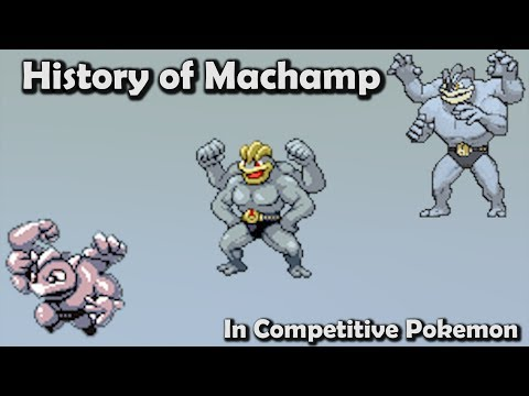 How GOOD was Machamp ACTUALLY? - History of Machamp in Competitive Pokemon (Gen 1-6)