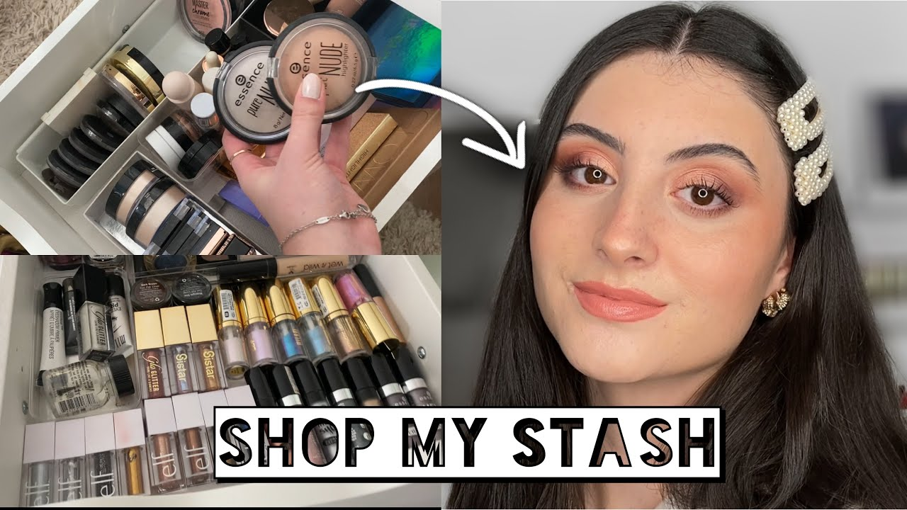 Download SHOP MY STASH | Discovering Old & New Favourites | How To Shop Your Makeup Stash