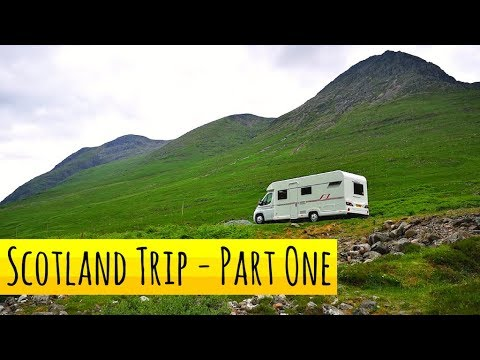 A Wee Scottish Adventure In A Motorhome! - Ep. 1