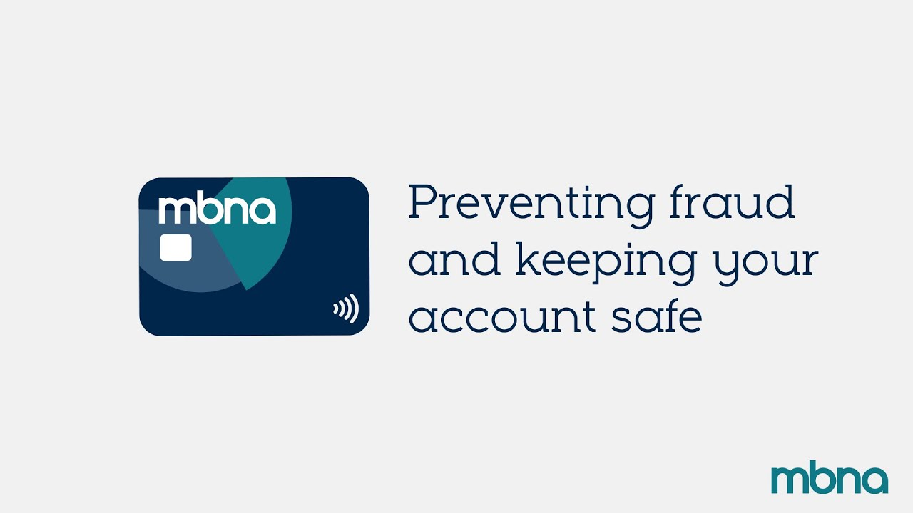 Security and Protection | Support | MBNA