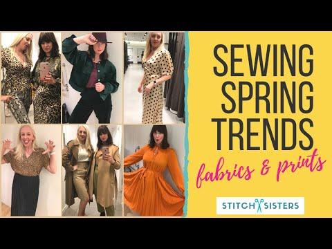Spring/Summer Trends 2019 - Fabrics & Prints (2 Of 2)