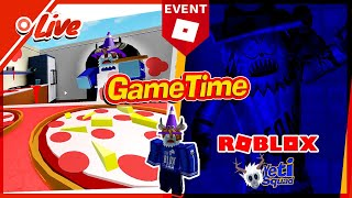 ⏩[Replay] 🔴 CRAZY Roblox PIZZA PARTY EVENT with ADMIN, DEV + SallyGreenGamer #PizzaParty FREE items