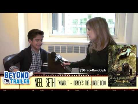 Neel sethi interview on the jungle book