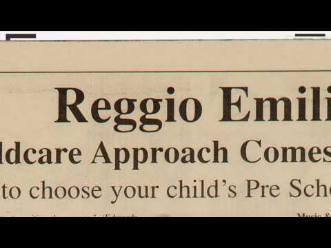 History and Philosophy of the Reggio Emilia Approach