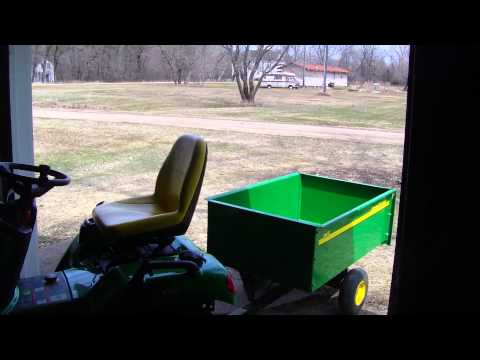 IT LIVES, puting on & testing the new john deere deluxe blac