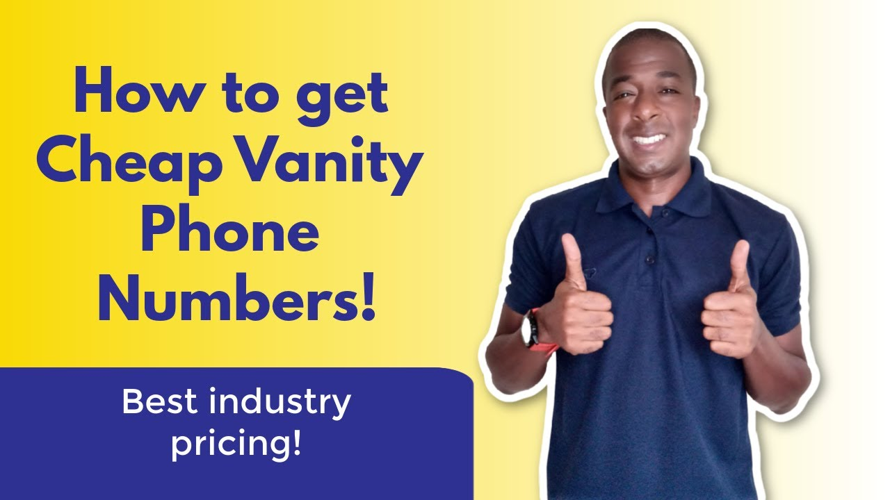 How to get a vanity business phone number UBER CHEAP!