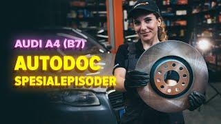 Hvordan skifte Bremsesko sett på AUDI A6 Avant (4F5, C6) - videoguide