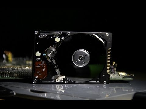 Scrapping A Hard Drive - What metals are inside HD VIDEO