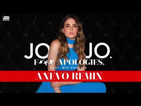 JoJo -  Fuck Apologies feat.  Wiz Khalifa (Anevo Remix) [Official Audio]