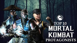 Top 10 Mortal Kombat Protagonists
