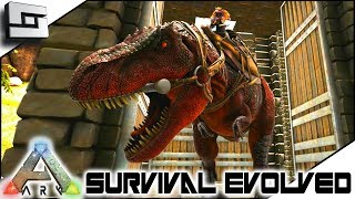 TAMING a TREX! ARK: Survival Evolved - E15 ( Ark Ragnarok Map )