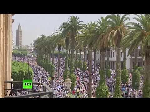 Manifestation de soutien au mouvement populaire Hirak à Rabat (Direct du 11.06)