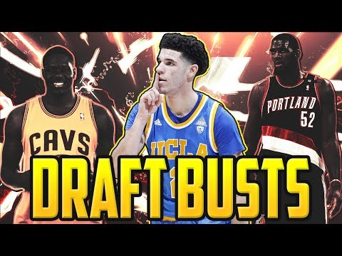BUSTS IN THE 2017 NBA DRAFT, BIGGEST BOOM OR BUST PROSPECTS TOP 3 RISKY PROSPECTS, LONZO BALL!!!!