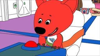 Раскраска - Ми-ми-мишки - Лунное приключение - Выпуск 23 - развивающие мультики для малышей