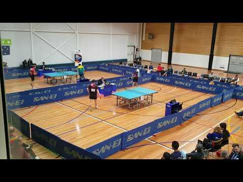 Heming Hu vs Kane Townsend + Chris Yan vs David Powell | Part 1