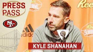 Kyle Shanahan on the Rams vs. Saints Game & Start of 2019 Senior Bowl Practices