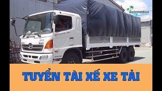 TUYỂN TÀI XẾ LÁI XE TẢI hàng điện tử tải trọng 3,5 - 5 tấn [Lương CAO] | Công Ty Điện Tử Kinh Đô