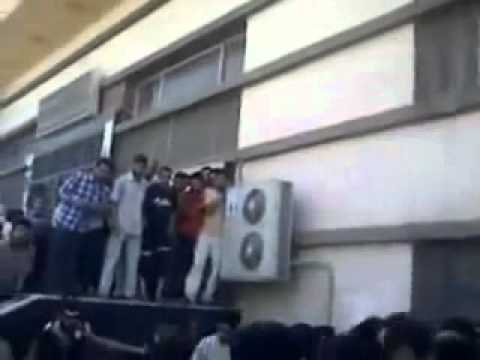 Post Office Workers Thrown From Windows by NATO's Insurgents in Aleppo - Syria.