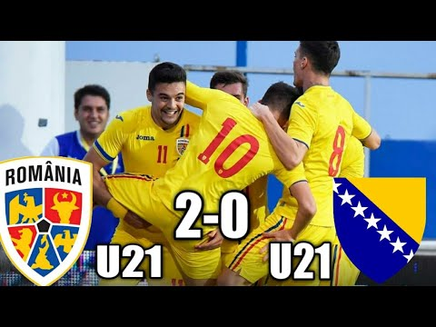 Romania U21 vs Bosnia U21 2-0 | Aproape de calificare la EURO 2020 | UEFA Nations League