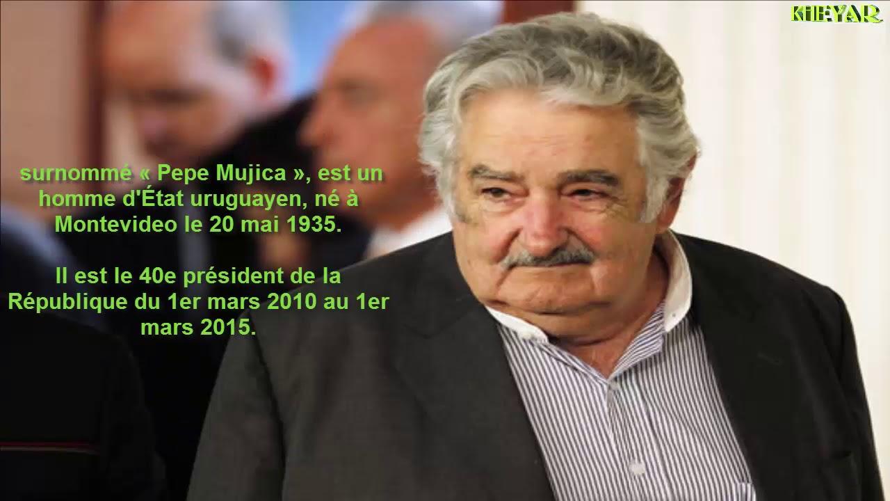 Jose Mujica Le President Le Plus Pauvre Du Monde Youtube