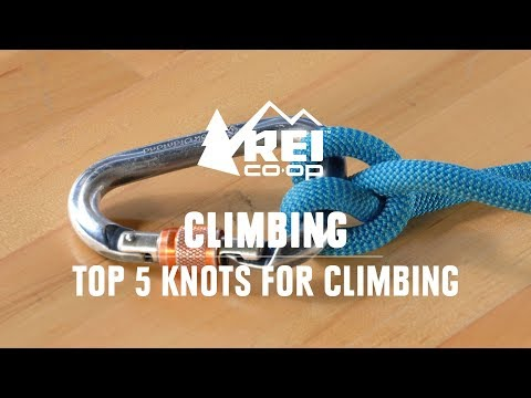 Best Knots For Climbing—The 5 Knots Every Climber Should Know  || REI