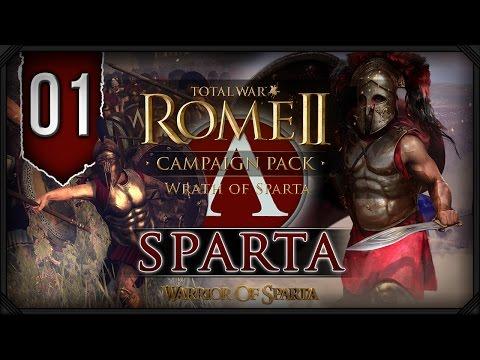 Total War Rome II: Wrath of Sparta ~ Sparta Campaign #1 - Rise Spartans!