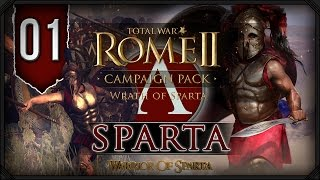 Total War Rome II: Wrath of Sparta ~ Sparta Campaign #1 - Rise Spartans!