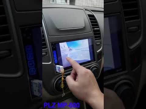 PLZ Double Din Car Stereo Touchscreen with Bluetooth,  FM/Am/TF/USB/Aux-in/PhoneLink /Rear Camera