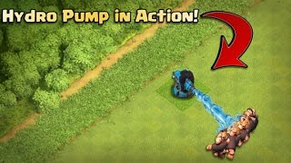 Clash of Clans new defence 2017 | Hydro Pump | Clash of clans may upcoming update