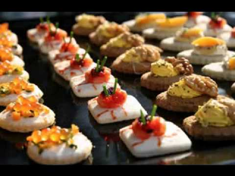 Creative wedding hors d oeuvres decor ideas youtube for Summer canape ideas