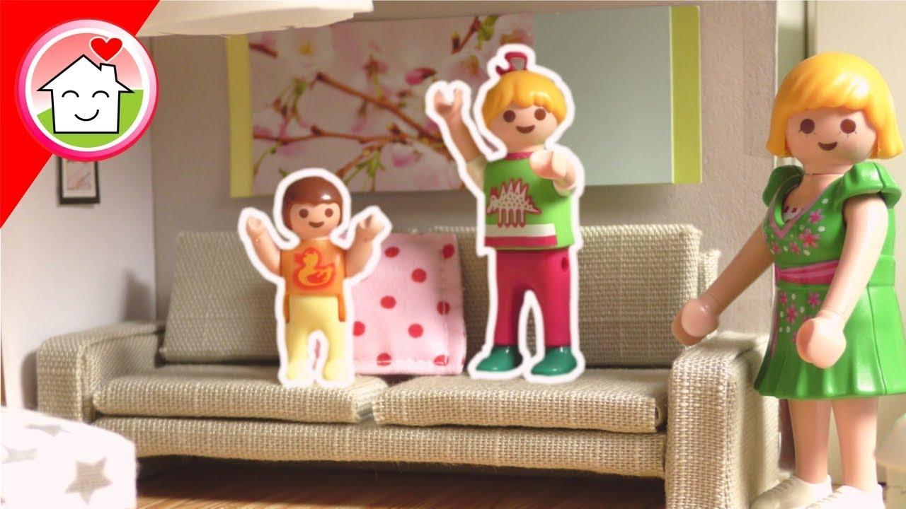Playmobil Haustour von Familie Hauser - Pimp my PLAYMOBIL Frühling 29 -  DIY for kids