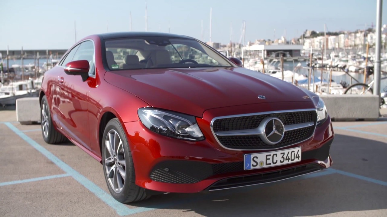 The New Mercedes Benz E 220 D 4matic Coupe Exterior Design In