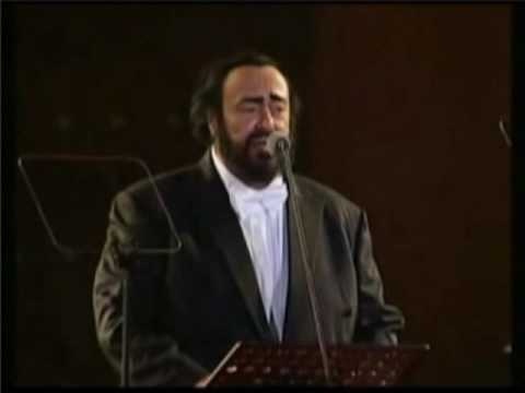 Luciano Pavarotti - Granada (Beijing 2001)