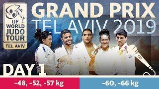 Judo Grand-Prix Tel Aviv 2019: Day 1
