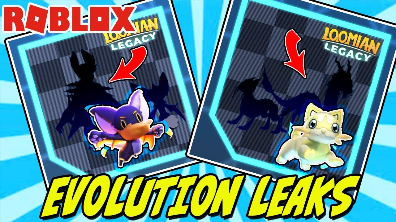 Loomian Legacy Evolution Leaks Roblox Weevolt And Vambat Youtube