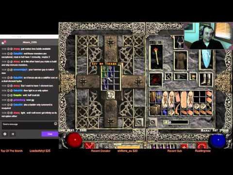 Diablo 2 Uber Tristram Torch Quest! - Smiter Gear and Spec