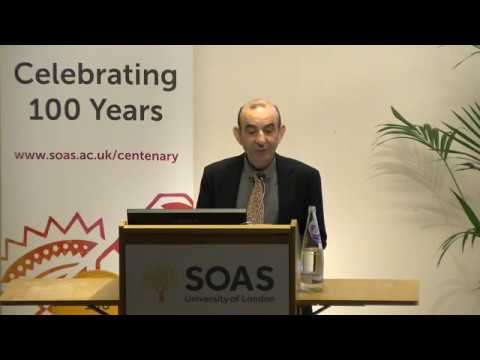 Centenary Lecture: Raja Shehadeh, writer and lawyer