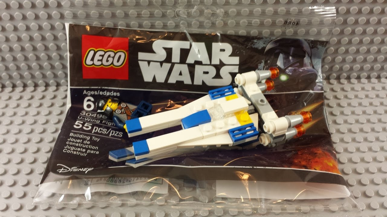 LEGO 30496 Star Wars U-Wing Fighter Poly Bag Mini Set Mini Space Ship