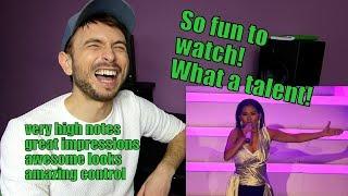 Vocal coach YAZIK reacts to Katrina Velarde - Never enough IMPRESSIONATION