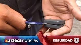 Video: ¿Cómo clonan las tarjetas de crédito?   Seguridad
