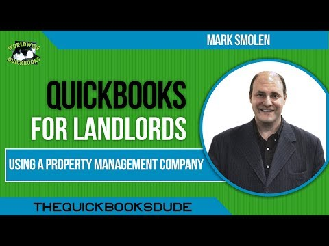 Landlords Using A Property Management Company - QuickBooks