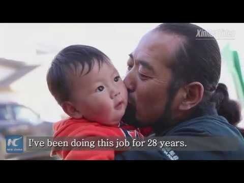 Tibetan man delivers mail for 28 years on treacherous mountain highway